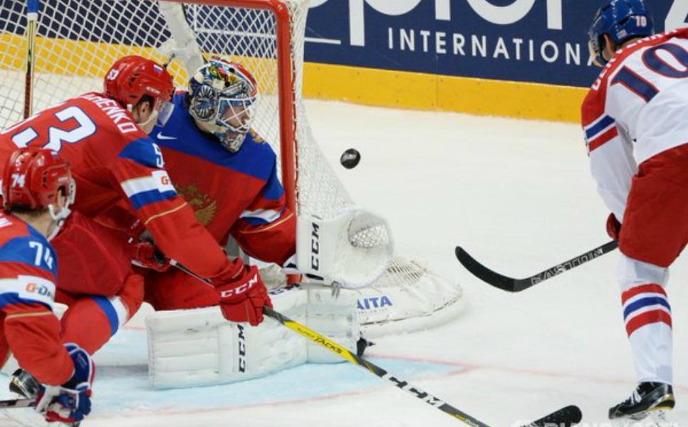 Сборная РФ проиграла 1-ый матч наЧМ похоккею