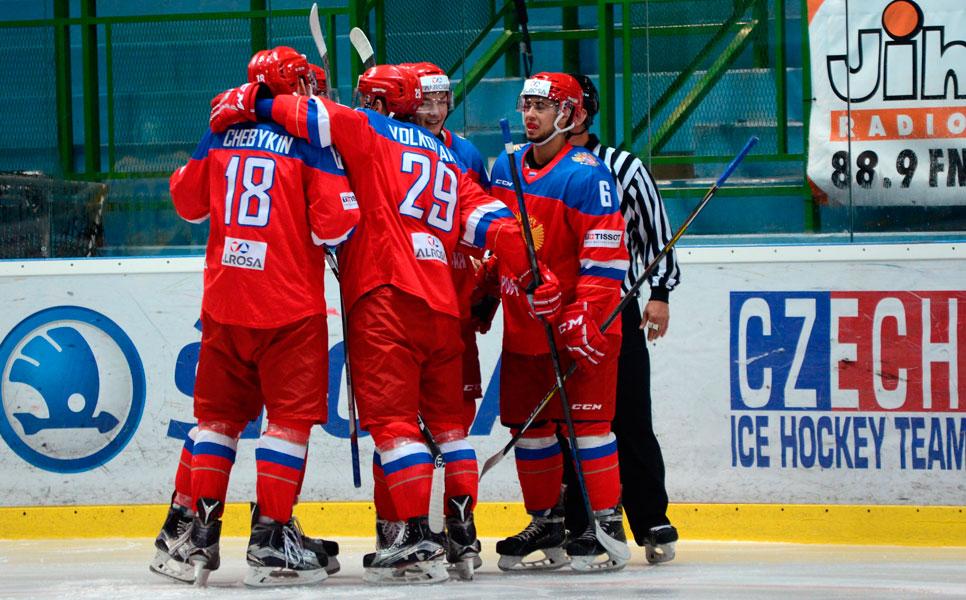 Сборная Российской Федерации (U20) нанесла поражение чехам— Турнир четырех наций