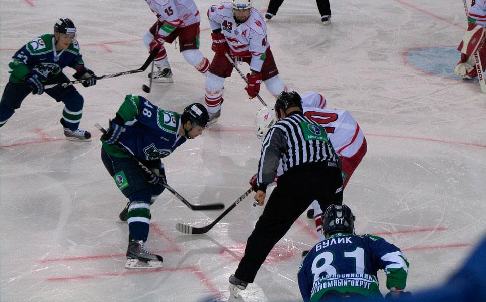 «Спартак» проиграл «Югре» вдомашнем матче КХЛ