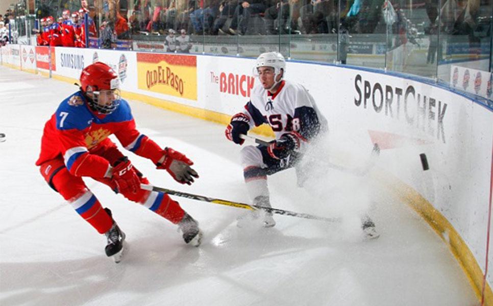 Юниорская сборная РФ похоккею уступила вполуфинале Кубка вызова