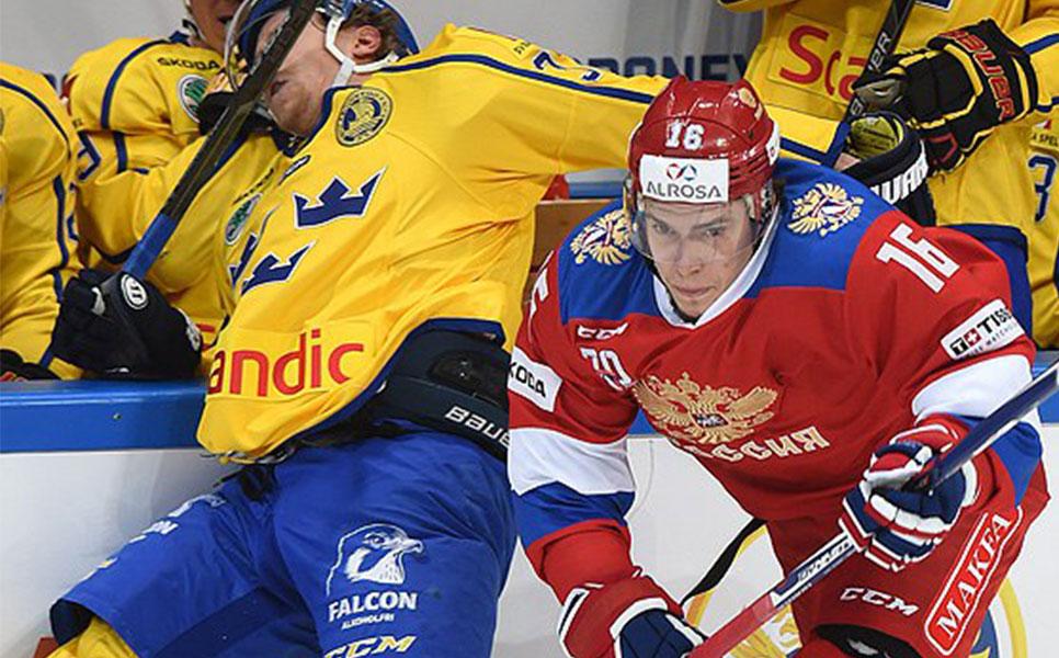 Сборная Российской Федерации уступила Швеции при разочаровывающей игре
