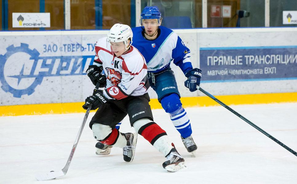 Тверской хоккейный клуб в 3-й раз уступил «Рубину»