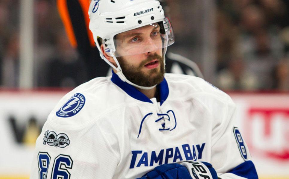 Кучеров признан лучшим игроком НХЛ весной