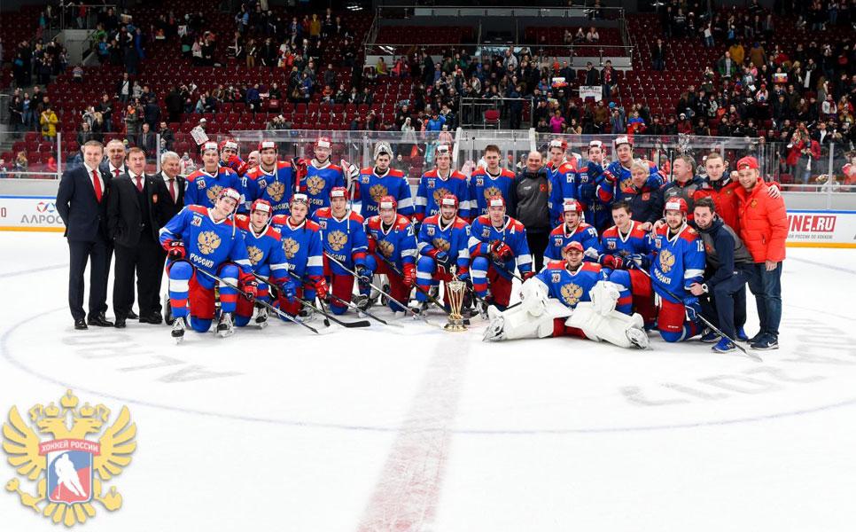 Олимпийская сборная РФ похоккею стала победительницей Кубка АЛРОСА