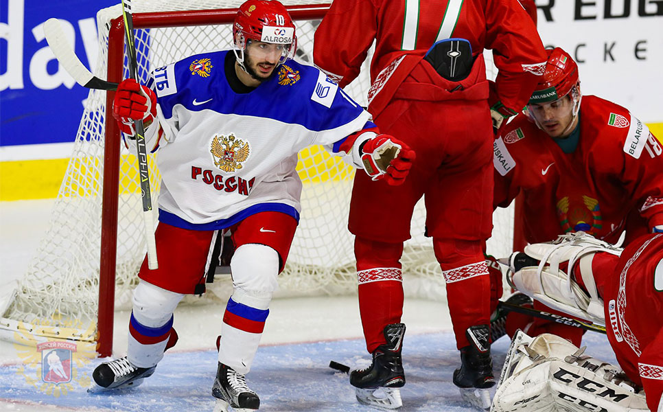 Русские хоккеисты забросили 5 шайб белорусам намолодежном чемпионате мира