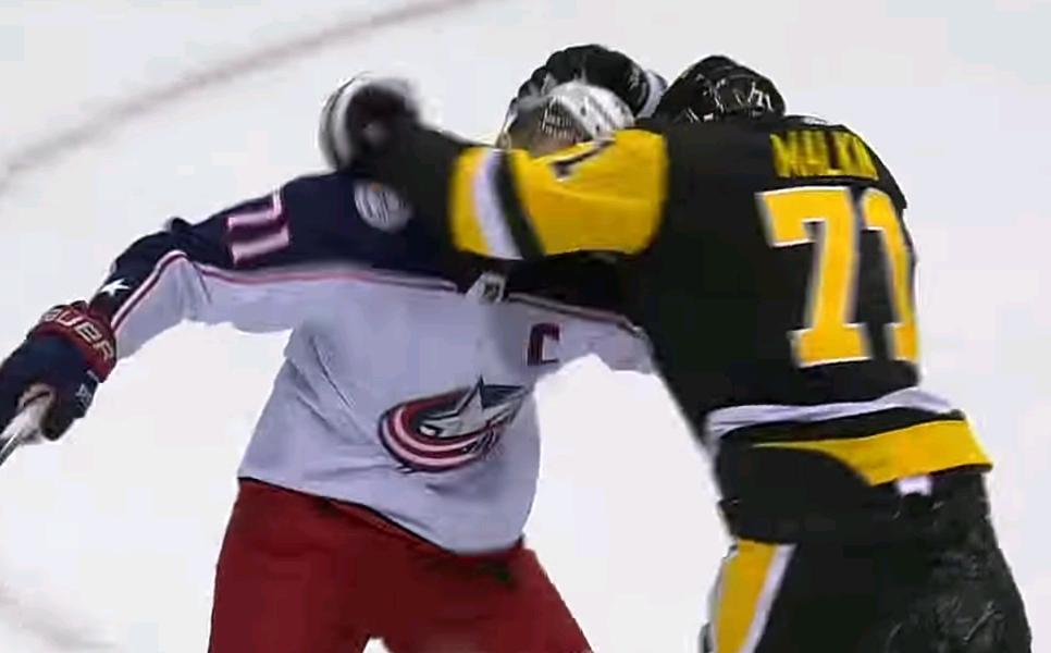 Евгений Малкин назвал причину потасовки сНиком Фолиньо вовремя матча НХЛ